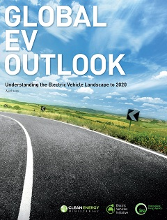 thumbnail of cover for Global EV Outlook report