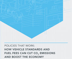 thumbnail cover: Policies That Work: How Vehicle Standards and Fuel Fees Can Cut CO2 Emissions and Boost the Economy