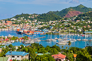 St. George's Harbor, Grenada, East Indies
