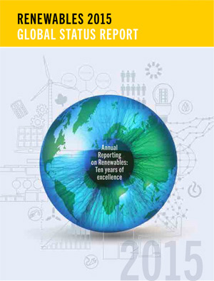 cover: Renewables 2015 Global Status Report