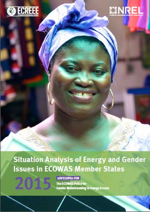 report cover: Situation Analysis of Energy and Gender Issues: Issues in ECOWAS Member State